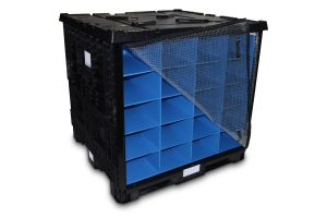 BulkStac Bulk Containers with Dunnage Cover