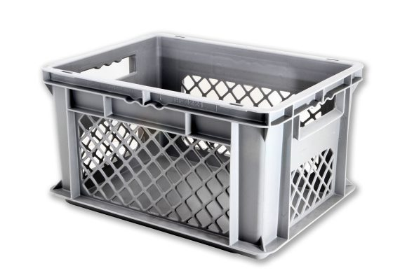 EF CONTAINER SOLID BASE & MESH SIDES