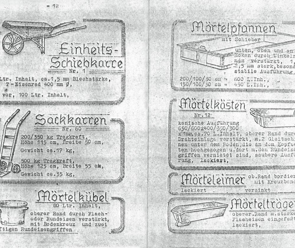 SSI SCHAEFER History 1945