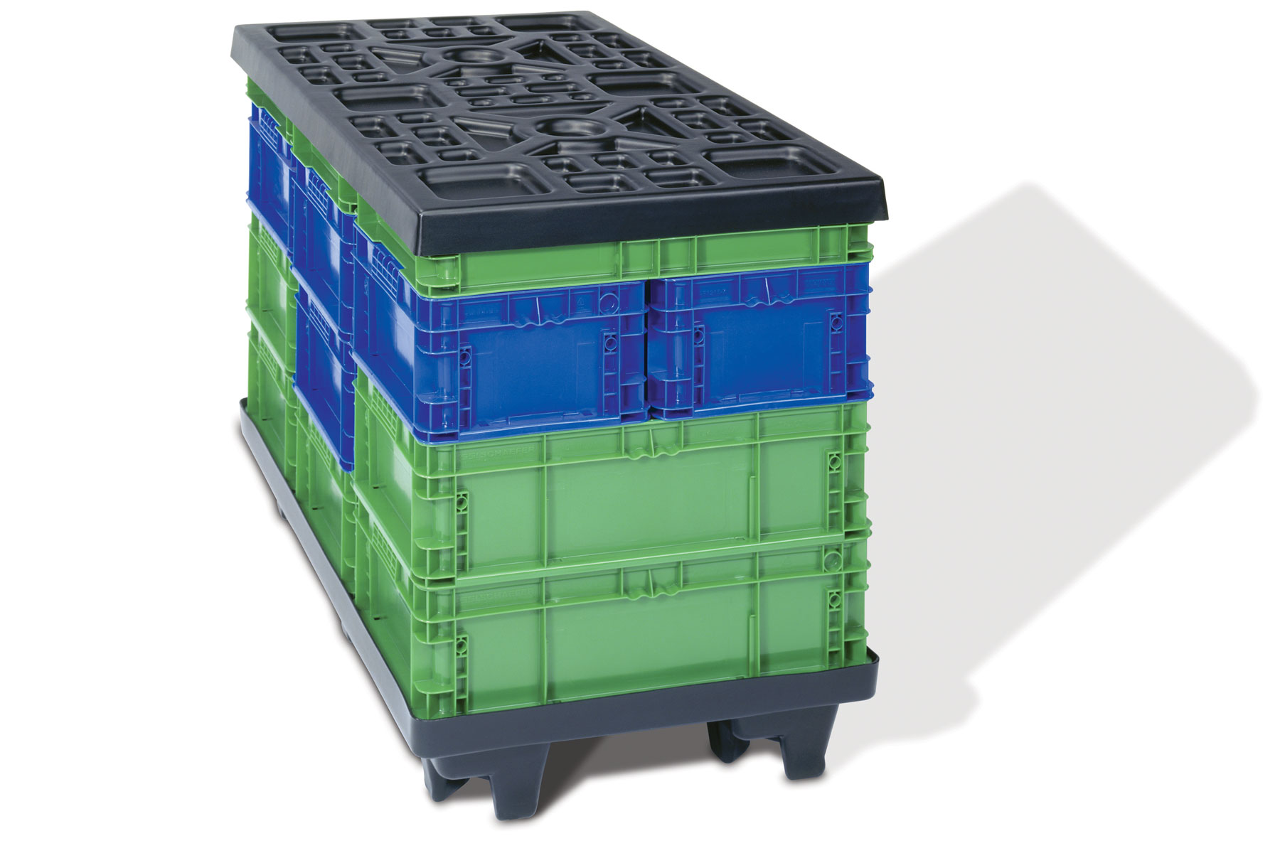 RTP Thermoformed Pallet & Top Cap