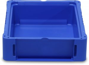 NF 121504 Straight Wall Handheld Container by SSI SCHAEFER