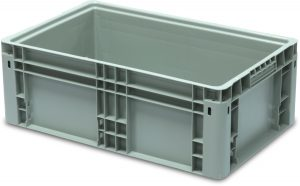 NF 241508 Straight Wall Handheld Container by SSI SCHAEFER