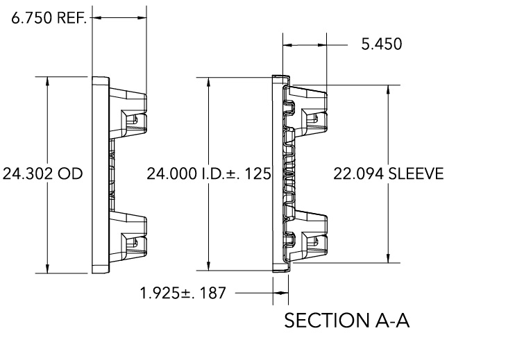 RTP Pallet diagram