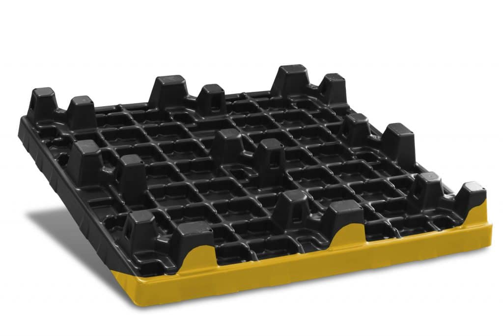 VFP thermoformed pallet top cap