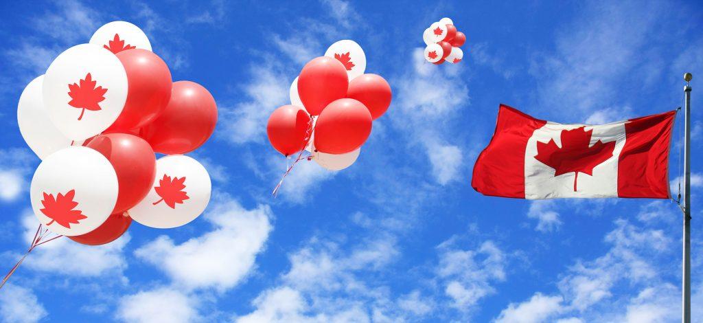 canada-sky-flag-ballons