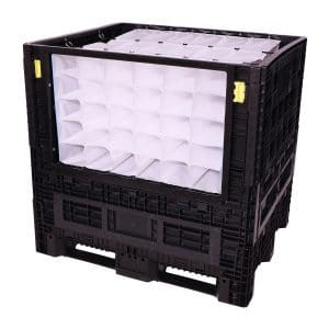 collapsible bulk dunnage side load