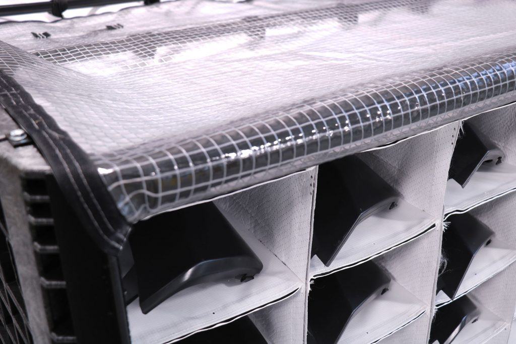 custom bulk dunnage side load