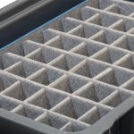 Corrugated Plastic Dunnage with Fabric covering