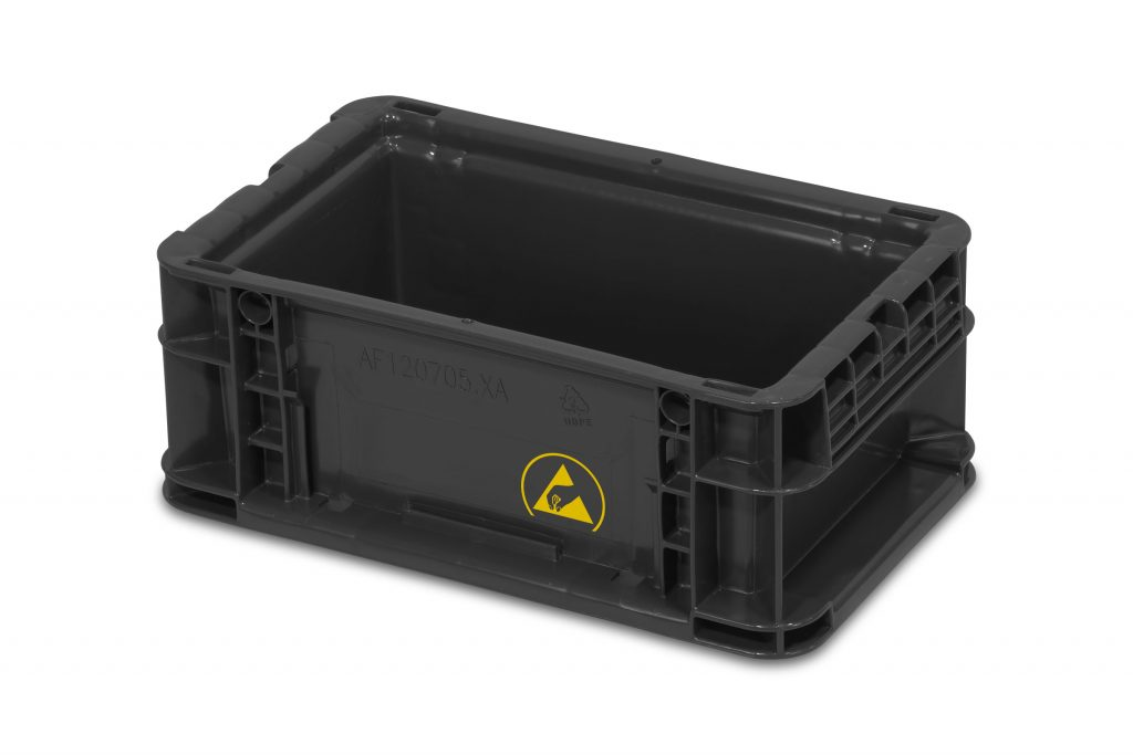ESD 120705 Electrostatic Dissapative Containers from SSI SCHAEFER