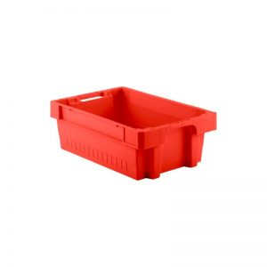 EFB642 Red Heavy Duty Stack and Nest Container