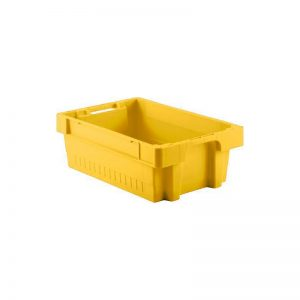 EFB642 Yellow Heavy Duty Stack and Nest Container