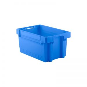 EFB643 Blue Heavy Duty Stack and Nest Container