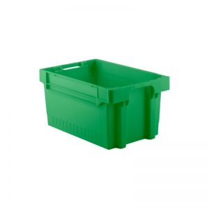 EFB643 Green Heavy Duty Stack and Nest Container