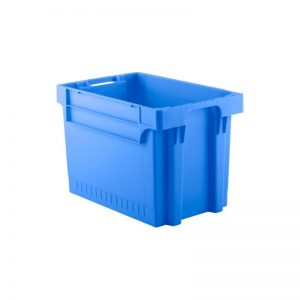 EFB644 Blue Heavy Duty Stack and Nest Container