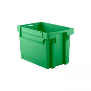 EFB644 Green Heavy Duty Stack and Nest Container