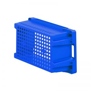 EFB643 Blue Mesh Heavy Duty Stack and Nest Container