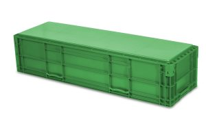 NF 481511 Straight Wall Handheld Container by SSI SCHAEFER