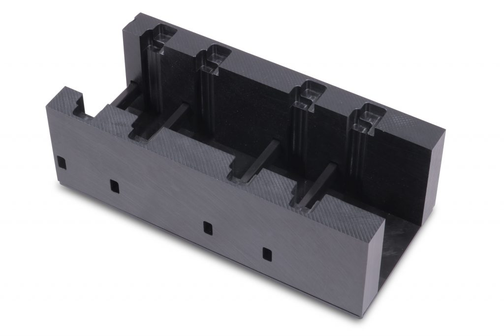 Machined High Density Polyethylene (HDPE) Dunnage Cradle