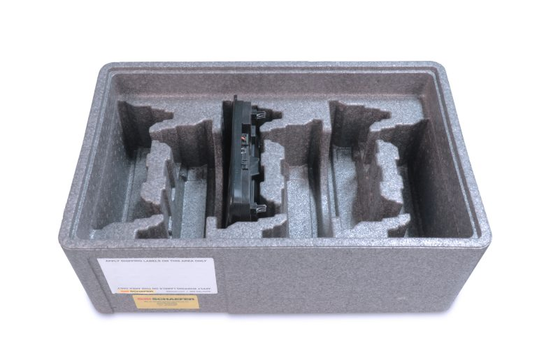 AN EPP CUSTOM INSERTABLE TRAY WITH COIL PACK