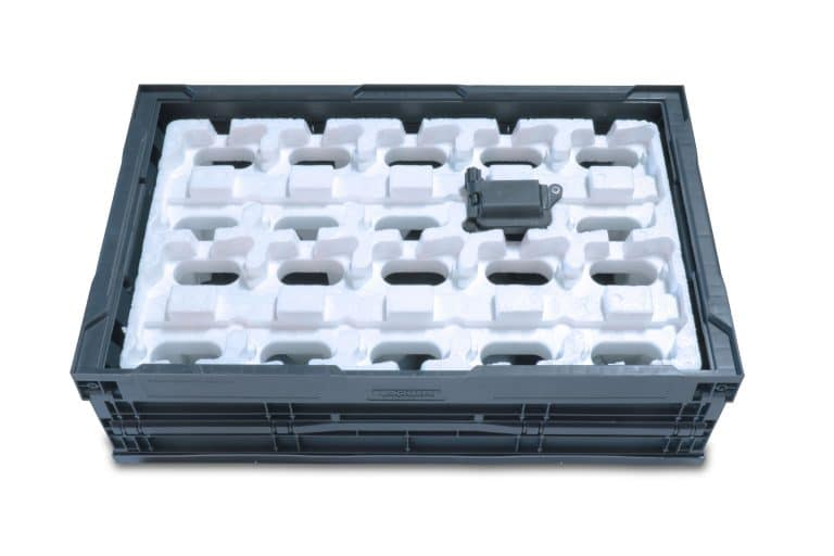 Molded Foam Material - EPP CUSTOM INSERTABLE TRAY WITH COIL PACK